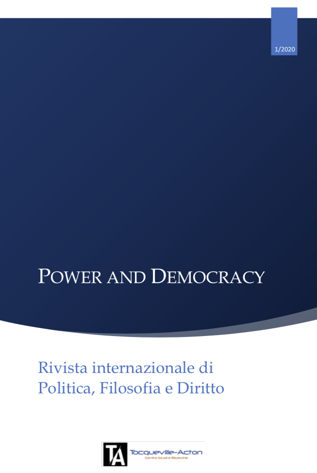Power and Democracy _ Anno I, Fasc. 1/2020, N. 1